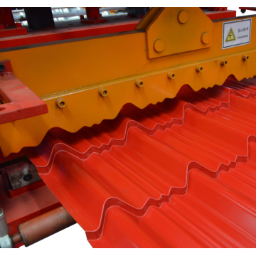 Roofing Glazed Step Tiles Roll Forming Machine