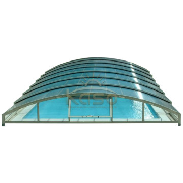 High Quality for Retractable Swimming Pool Enclosures Swimming Price Uk Cover Telescopic Pool Enclosure supply to Northern Mariana Islands Manufacturers
