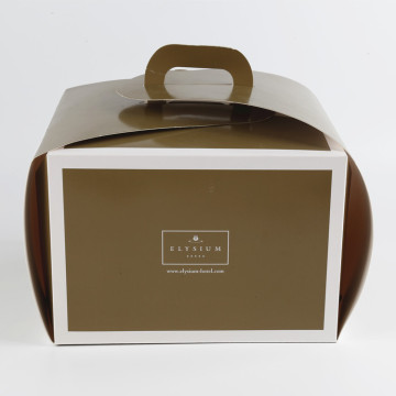 Custom Birthday Cardboard Cake Packaging Box