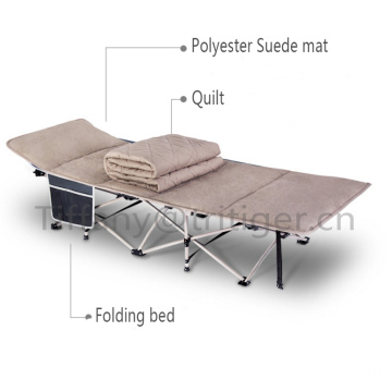 Professional for China Portable Folding Bed,Folding Bed,Folding Camping Bed Manufacturer Camping Beach Bed Outdoor foldable bed suede mat supply to French Guiana Wholesale