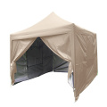3x3 folding gazebo even tent with sidewalls