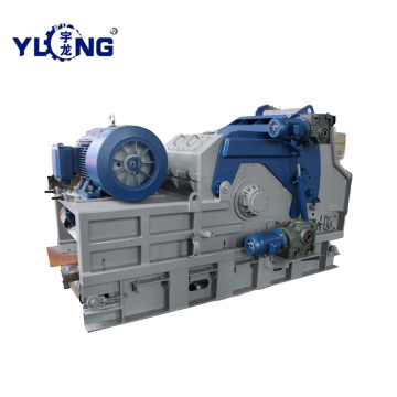 Industrial Drum Type Wood Chipping Machine