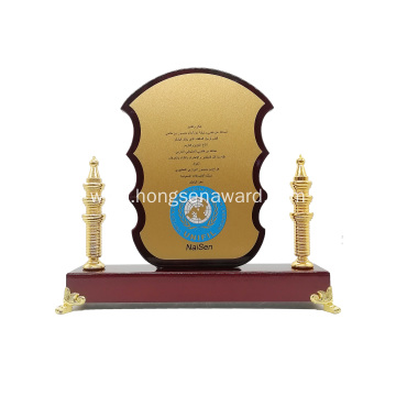stock Custom luxury wooden souvenir