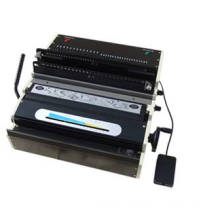Personlized Products for Plastic Comb Binding Machine ZX-0608B Wire Binding Machine (Electric) export to Sweden Wholesale