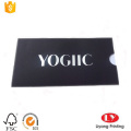 Black Envelope for Gift Card Packaging