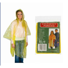 Best Price on for PE Long Raincoat Disposable Adult Plastic Poncho Raincoat export to France Manufacturers