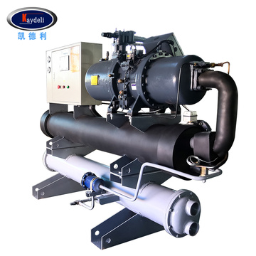 200HP Water cooled screw chiller