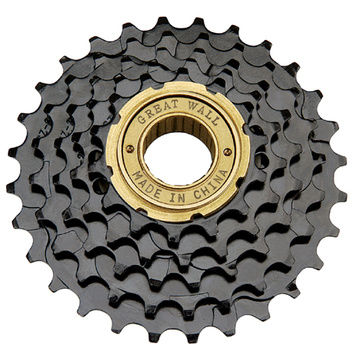 Bicycle Freewheel Golden Surface Finished