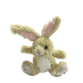 Top Paw Plush Body Rabbit Dog Toy