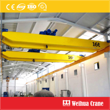 20 ton double girder overhead crane with hoist