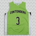new style green eyelet fabric basketball jerseys