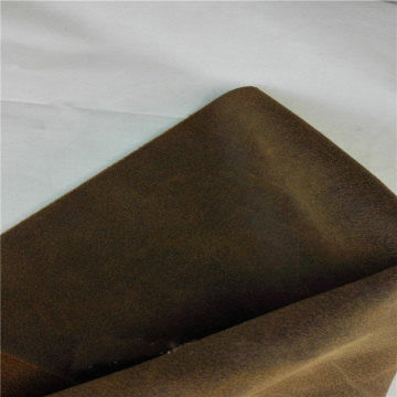 Classical distressed imitation cow leather