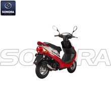Benzhou YY50QT YY125T YY150T Body Kit Complete Scooter Engine Parts Original Spare Parts