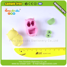 Cute Kids 3D Owl puzzle eraser for promotional