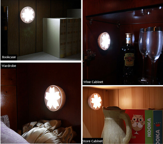 Cabinet Motion Sensor Light