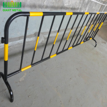 supply aluminum crowd control barrier iron crowd control