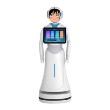 Automatic Guided Interactive Robot Waiter