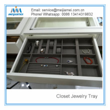 Professional for Interior Wardrobe Storage Drawer Jewerly Tray and Inserts supply to Russian Federation Manufacturer