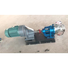High  viscosity belt and pulley driven resin transfer rotor pump