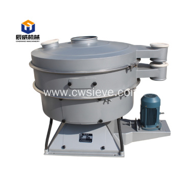 Fully enclosed tumbler vibrating screen