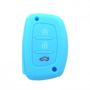 Colorful Hyundai IX35 Silicone Rasti Key