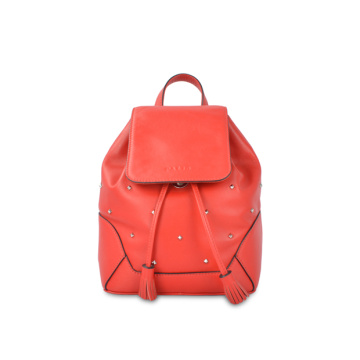 Christmas Gift Rolltop Backpack Vintage Bag For Women