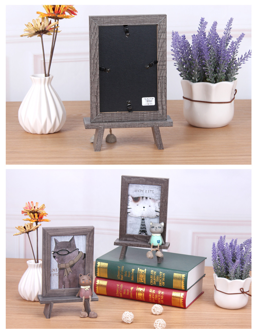 wooden frame decoration