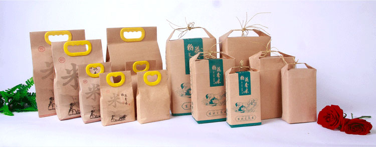 Flour Packaging Bags With Window