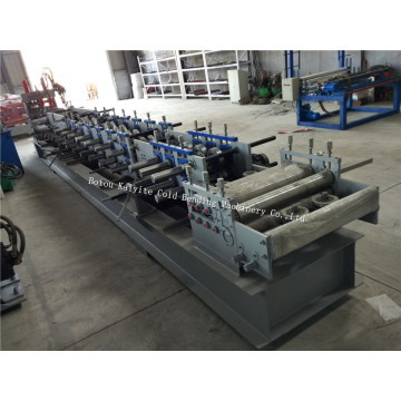 High Speed Size Change Type C Purlin Machine