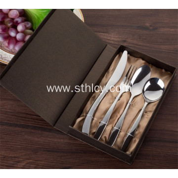 High-grade Stainless Steel Flatware Set with Packing Box