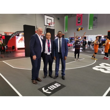 SES FIBA 3×3 basketball official supplier