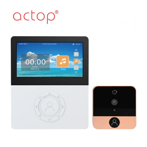 4.5 inch with APP Wifi Video Doorbell Camera