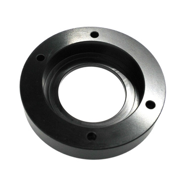 Turning Black Delrin Parts