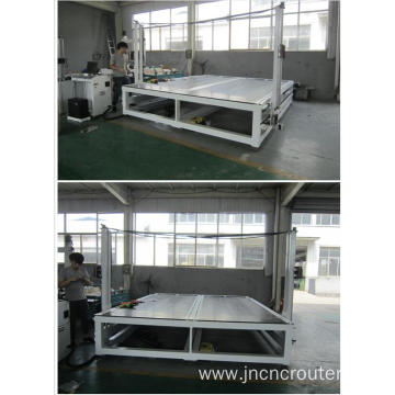 hot wire vertical foam cutting machine