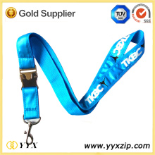 Custom Screen Printing LOGO Satin Sports Lanyard