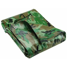 Top for Outdoor Camping Camo Tarpaulin Camouflage PE Tarpaulin Sheet supply to Spain Exporter