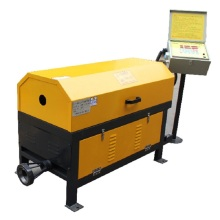 High speed Steel bar straightening and cutting machine