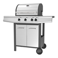 Stainless Steel Hood Gas Grill