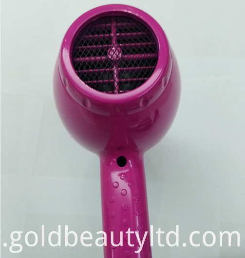 Hairdresser Shop Use Hair Blower