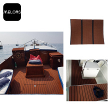 Dark Brown & Black UV Resistant EVA Foam Marine Flooring