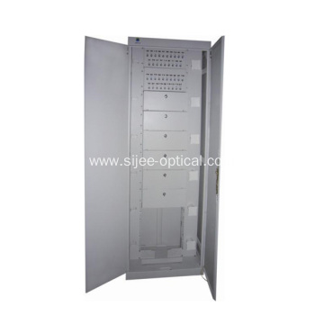 Best quality and factory for Fiber Optic Distribution Frame 576 Cores Fiber Cables Distribution Cabinet export to Greece Manufacturer