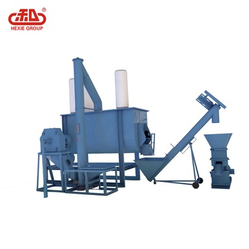 Pellet feed processing unit