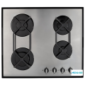 Stainless Steel Gas Hob With Cast Iron Supports