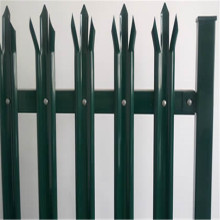 Leading for Palisade steel fence Details high quality powder coated steel palisade tower fence export to Kiribati Manufacturer