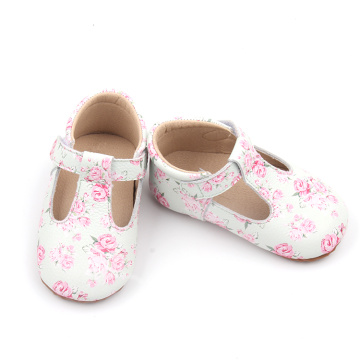 Pattern Soft Baby T Bar Dress Toddler Shoes
