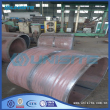 Good Quality for Wear Resistant Pipe Wear resistant steel loading piping supply to Congo Factory
