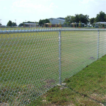 Chain Link Wire Mesh Fence In Galvanized