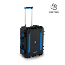 Wireless smartphone charging cabinet case for store