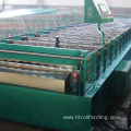 High productivity metal sheet siding panel roll forming machine