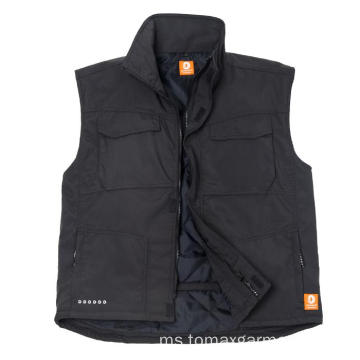 Windproof kalis air dan bernafas Winter Bodywarmer